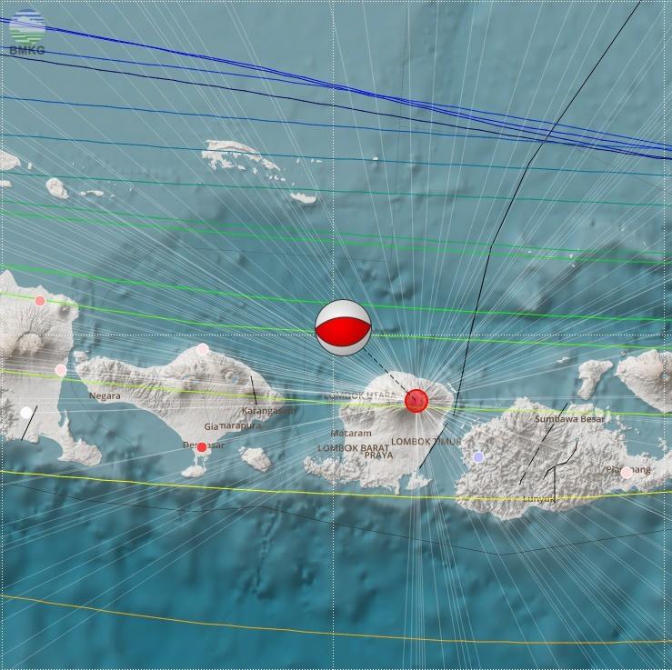 BMKG Gempa Lombok - nalar.id