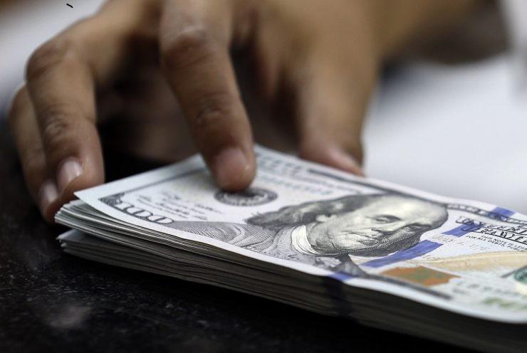 Ilustrasi dolar Amerika Serikat - nalar.id