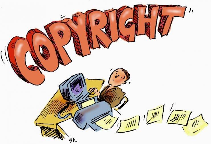 ilustrasi hak cipta - nalar.id