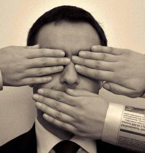 Ilustrasi kebebasan pers - nalar.id