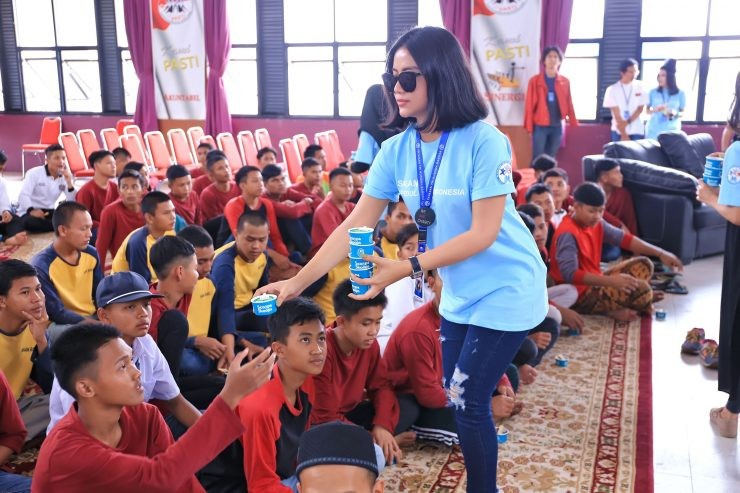 kegiatan di lapas anak Bandung - nalar.id