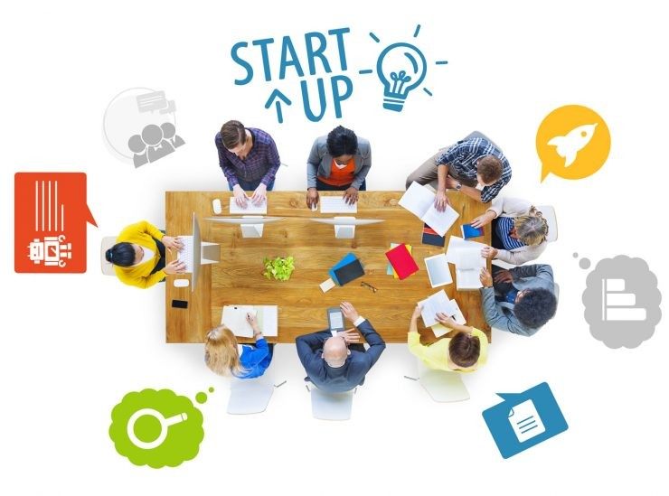 ilustrasi usaha startup - nalar.id