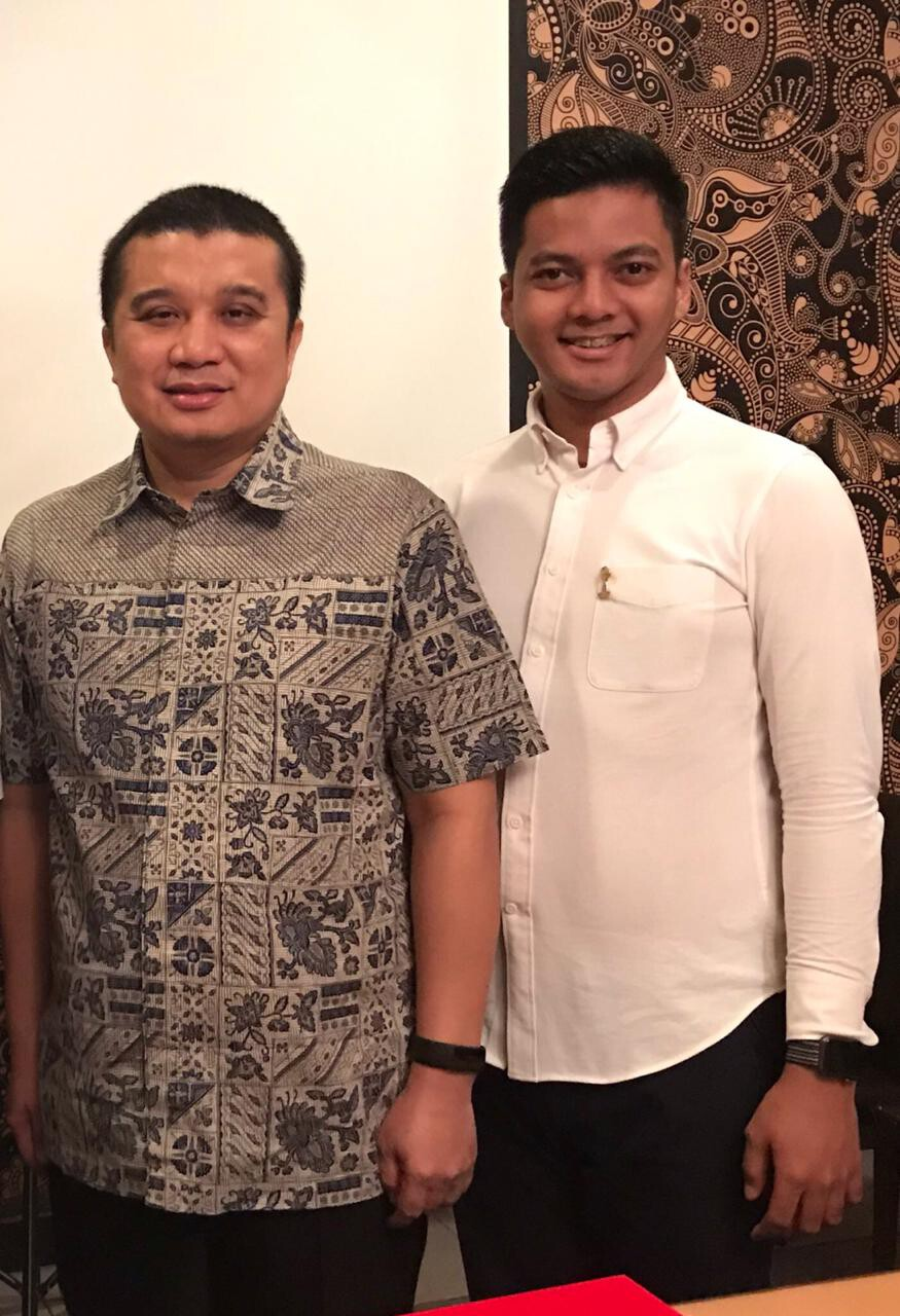 Faizal Hermiansyah dan Erwin Aksa - nalar.id