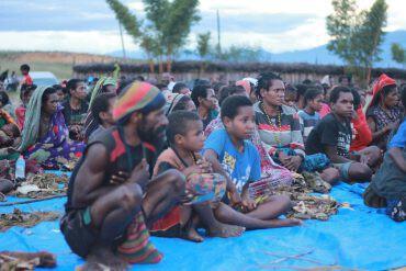 pengungsi Nduga - nalar.id
