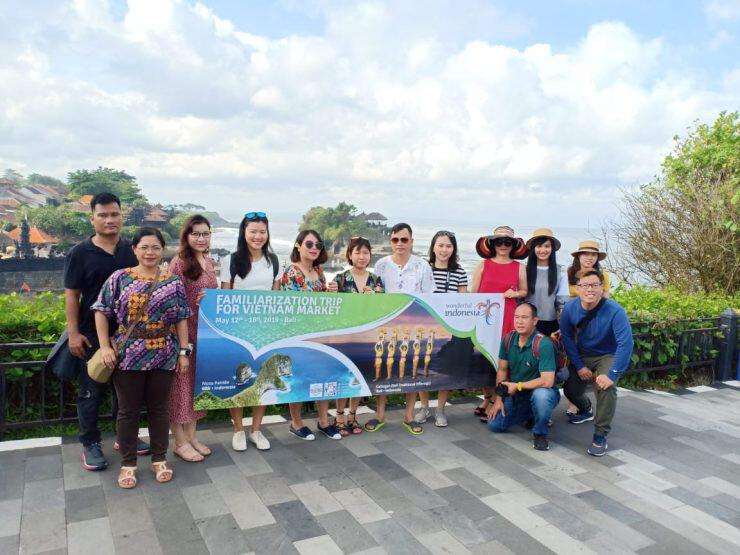 Famtrip Wisatawan Vietnam di Bali - nalar.id
