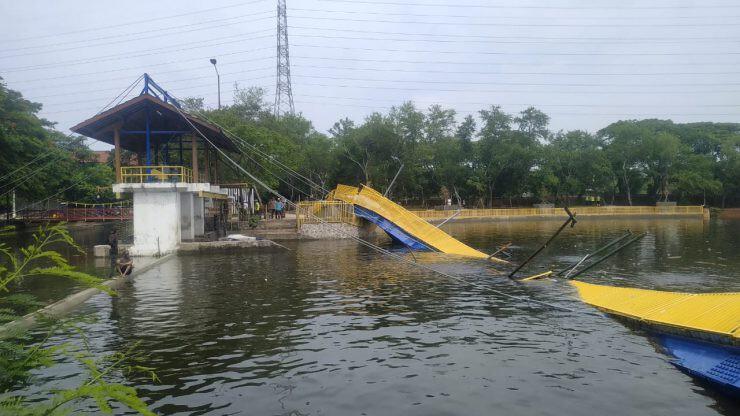 Jembatan Lengkung Kemayoran - nalar.id
