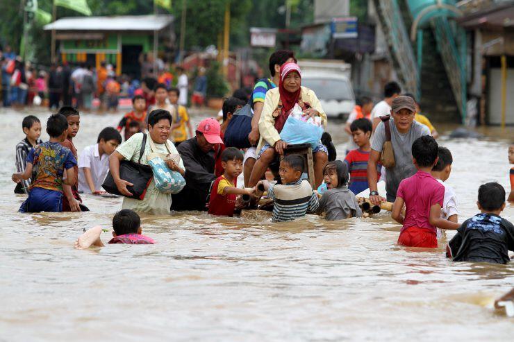 korban banjir Jakarta - nalar.id