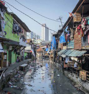 Permukiman padat penduduk di Jakarta - nalar.id