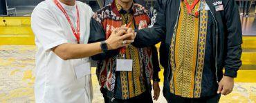 Bahlil Lahadalia dengan HIPMI Banten - nalar.id