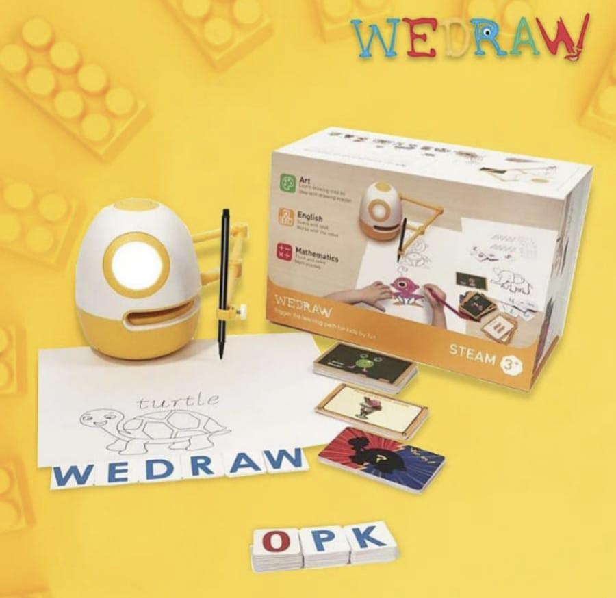 WeDraw robot pintar - nalar.id