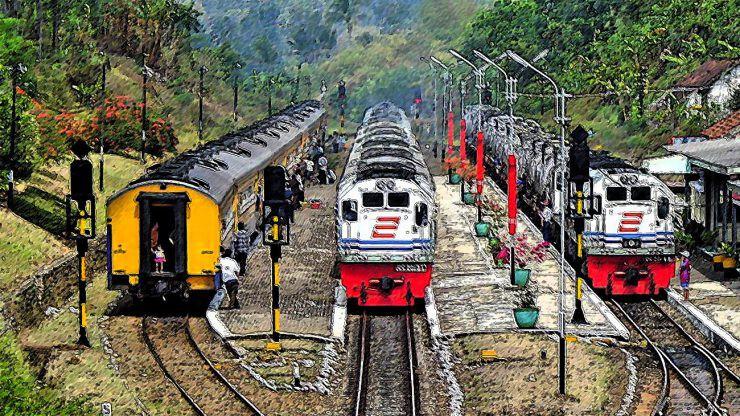 Ilustrasi kereta api - nalar.id